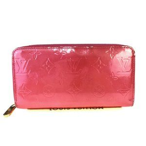 Louis Vuitton Monogram Vernis Zippy Wallet M41858